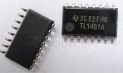 TL1451ACNSR Dual Channel Controller with Wide Input Voltage Range 16-SO -20 to 85
