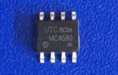 MC4580 LINEAR INTEGRATED CIRCUIT