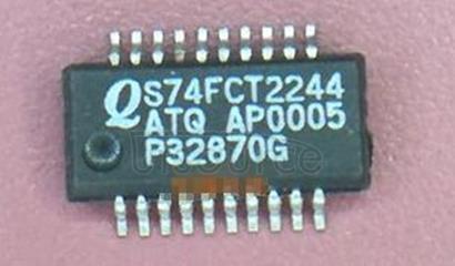 74FCT2244ATQ IC LOGIC 2244 OCTAL BUFFER/LINE DRIVER 5V -40+85C QSOP-20 55/TUBE