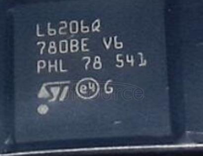 L6206QTR Half Bridge (4) Driver DC Motors, Stepper Motors, Voltage Regulators BCDMOS 48-VFQFPN (7x7)