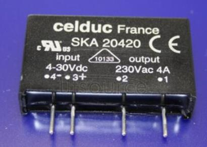 SKA20420 SOLID   STATE   RELAY   FOR   PRINTED   CIRCUIT   BOARD