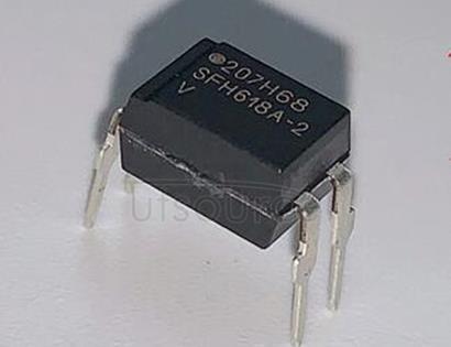 SFH618A-2 Phototransistor, 5.3 kV TRIOS Low Current Input Optocoupler
