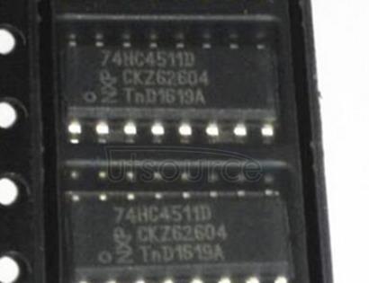 74HC4511D Decoder/Driver