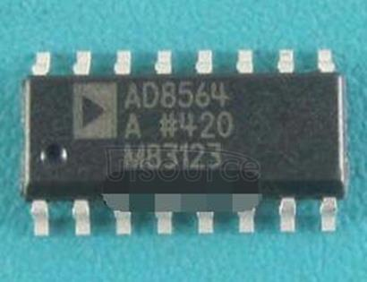 AD8564A Quad 7 ns Single Supply Comparator