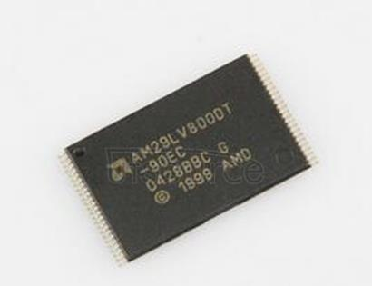 AM29LV800DT-90EC 8 Megabit 1 M x 8-Bit/512 K x 16-Bit CMOS 3.0 Volt-only Boot Sector Flash Memory
