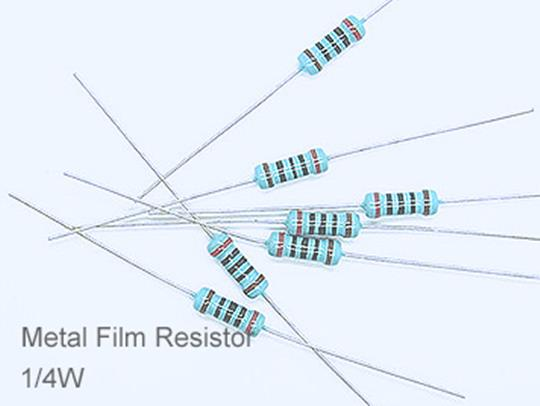(20pcs) DIP Metal Film Resistor 1% 1/4W 680Ω(680R)