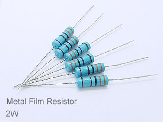 (20pcs) DIP Metal Film Resistor 1% 2W 11Ω(11R)