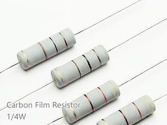 (20pcs) DIP Carbon Film Resistor 5% 1/4W 10Ω(10R)