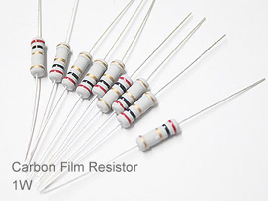 (20pcs) DIP Carbon Film Resistor 5% 1W 75K