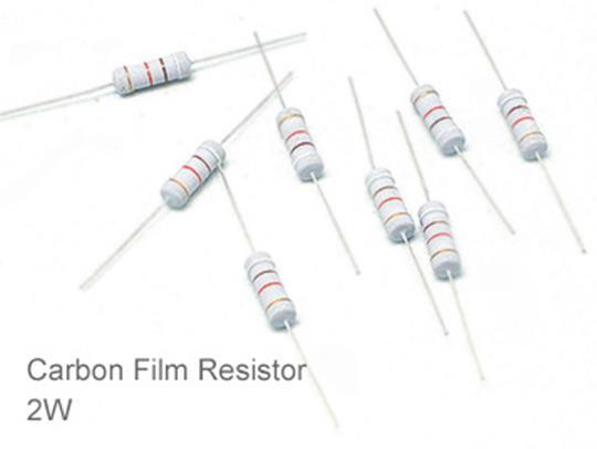 (20pcs) DIP Carbon Film Resistor 5% 2W 430K