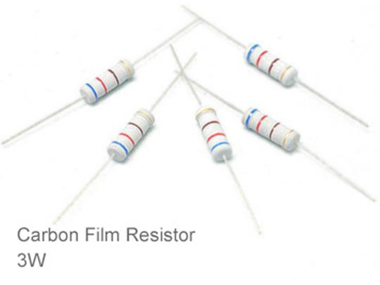 (20pcs) DIP Carbon Film Resistor 5% 3W 0.5Ω(0.5R)