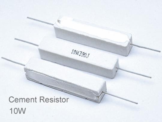 (5pcs) DIP Ceramic Resistor 5% 10W 20K