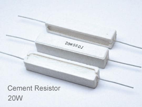 (5pcs) DIP Ceramic Resistor 5% 20W 68K