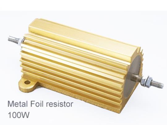 (1pcs) DIP Aluminium Clad Power Resistor 5% 100W 10Ω(10R)