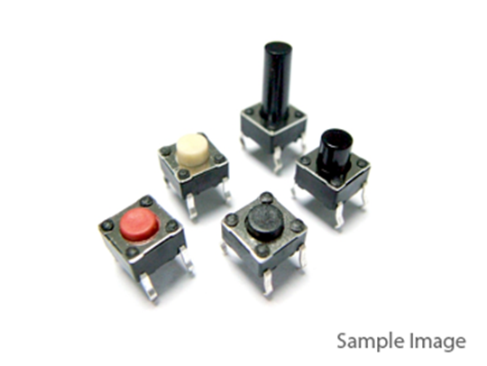 Pushbutton Switch Four pins Vertical 6*6*14mm (50pcs)