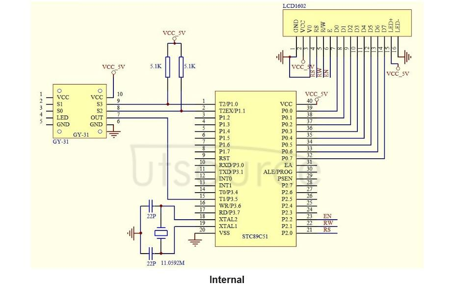 GY-31 TCS230 TCS3200 Color Sensor Color Recognition