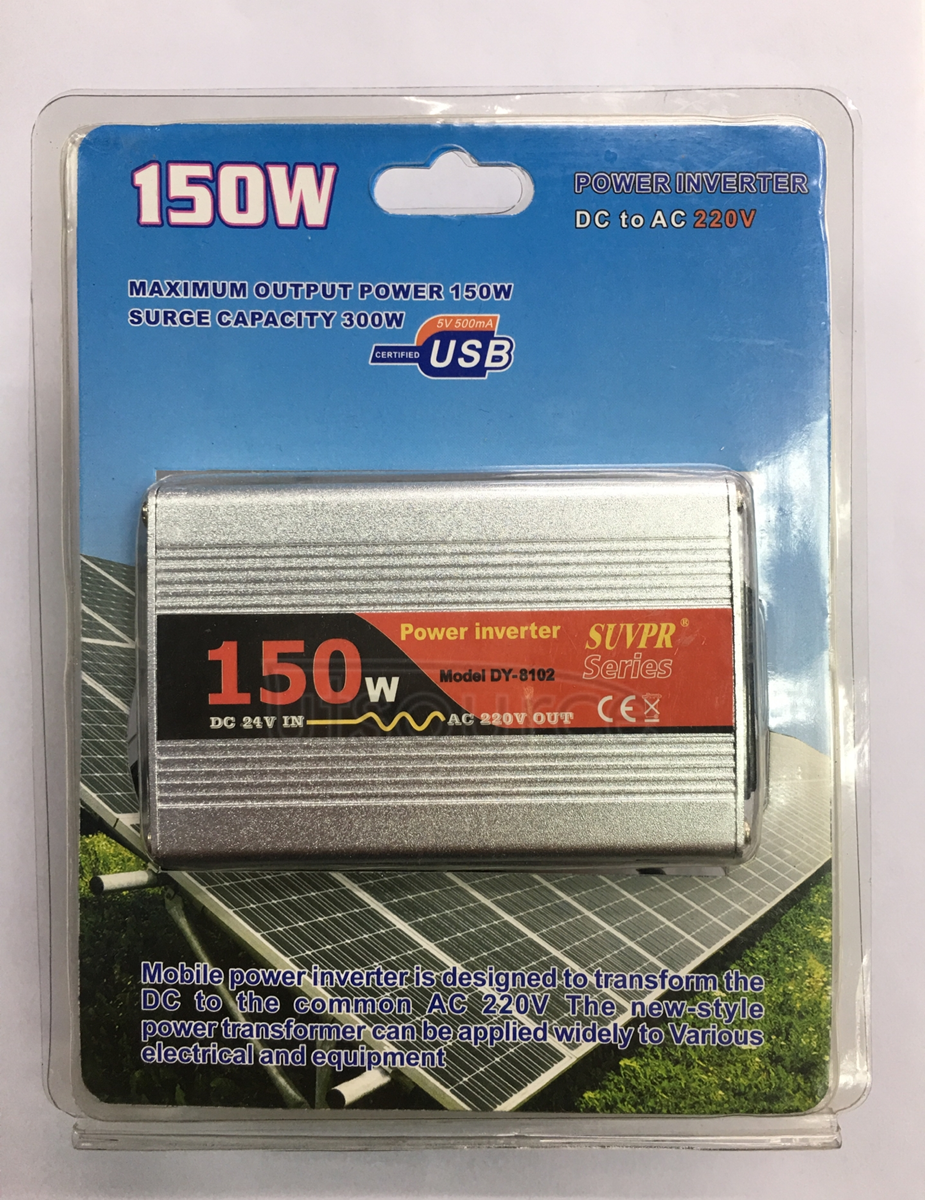SUVPR 150W 24V-220V inverter