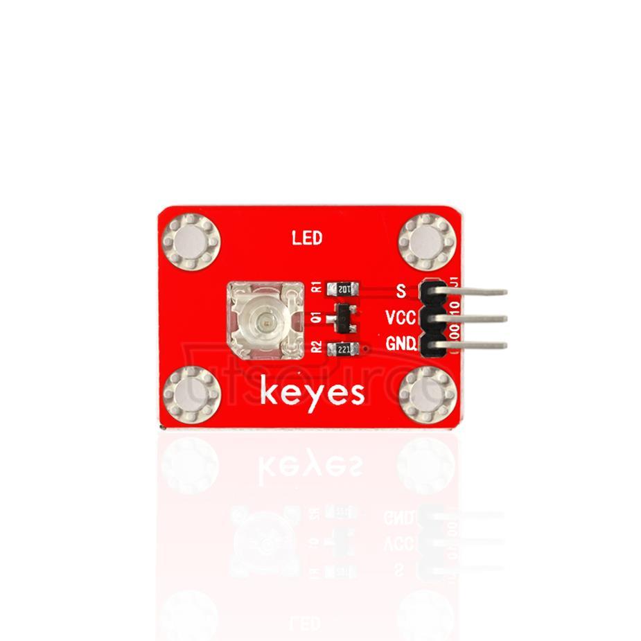 keyes Pirhana LED Green Light Module (with soldering pad-hole)