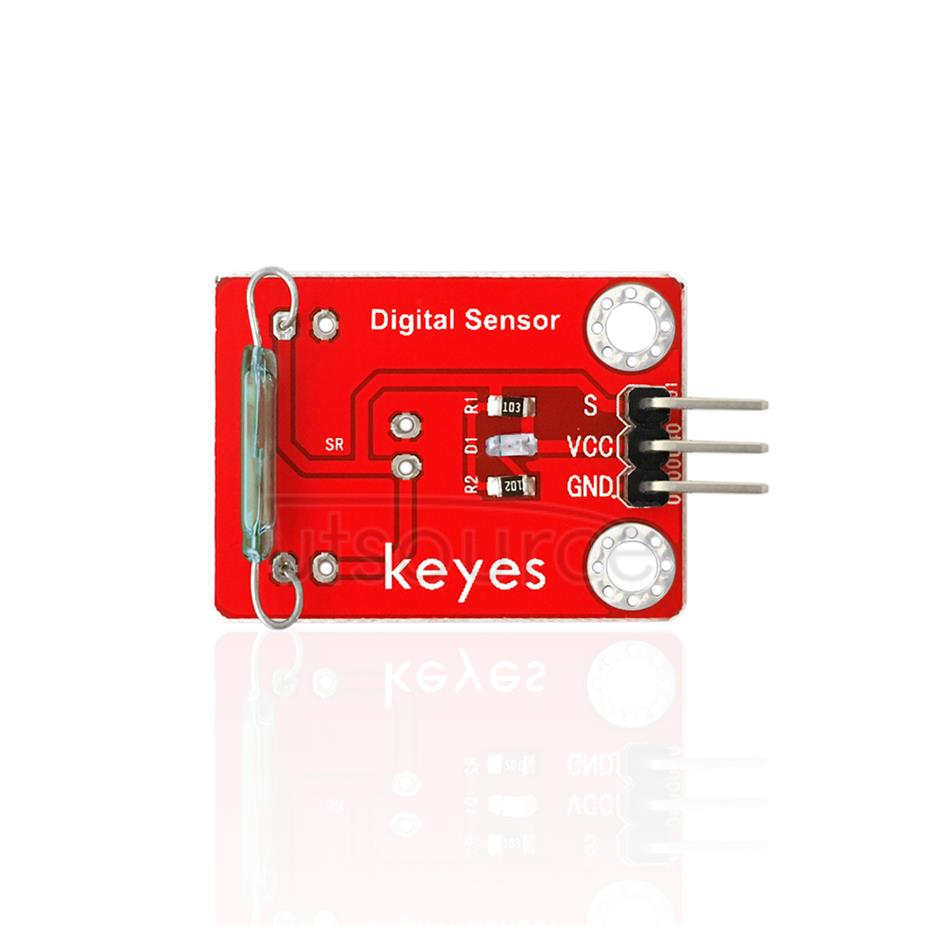 keyes Reed Switch Sensor (with soldering pad-hole)