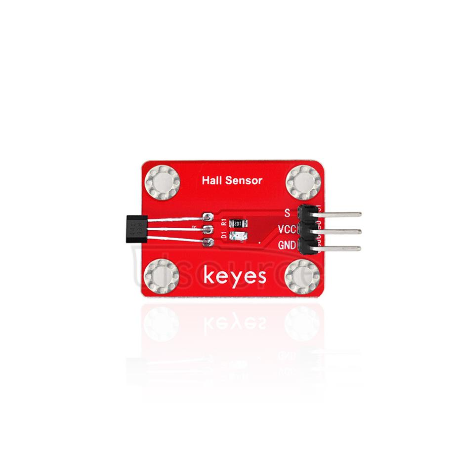 keyes Hall Sensor  (with soldering pad-hole)