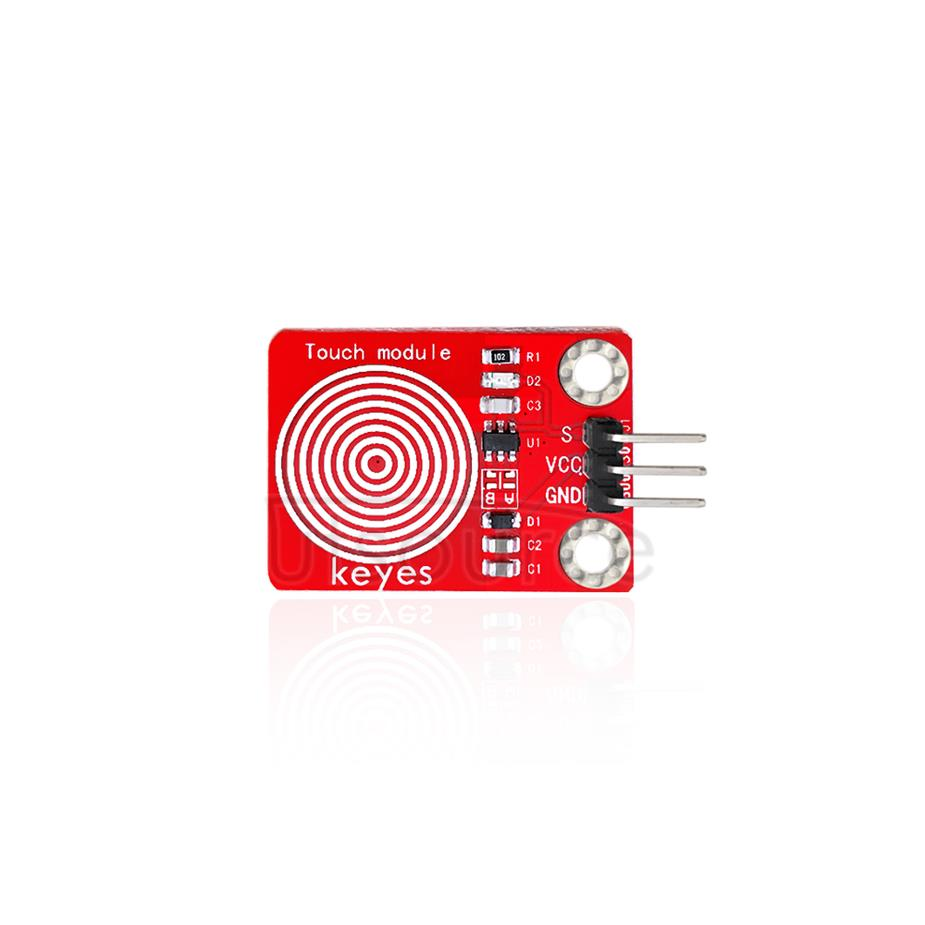 keyes Capacitive Touch Sensor  (with soldering pad-hole)