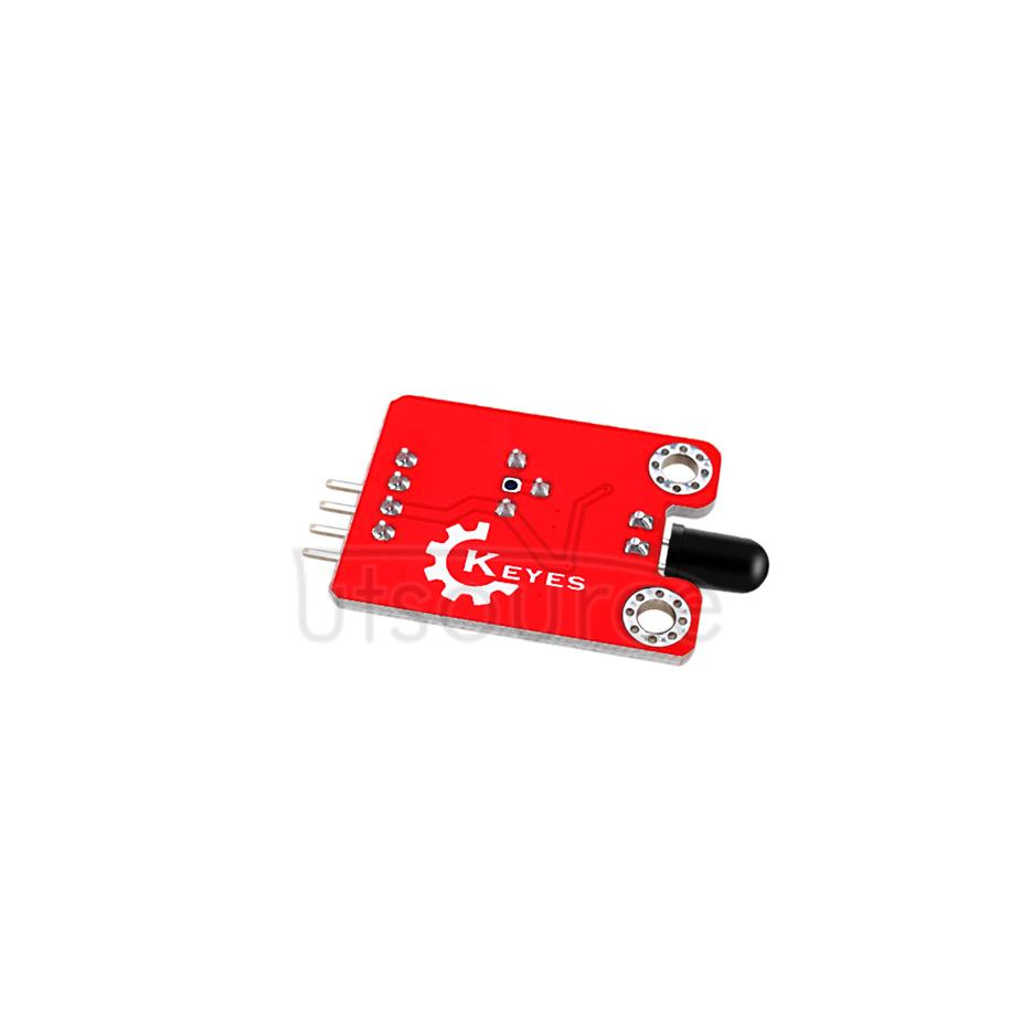 keyes Flame Sensor  (with soldering pad-hole)