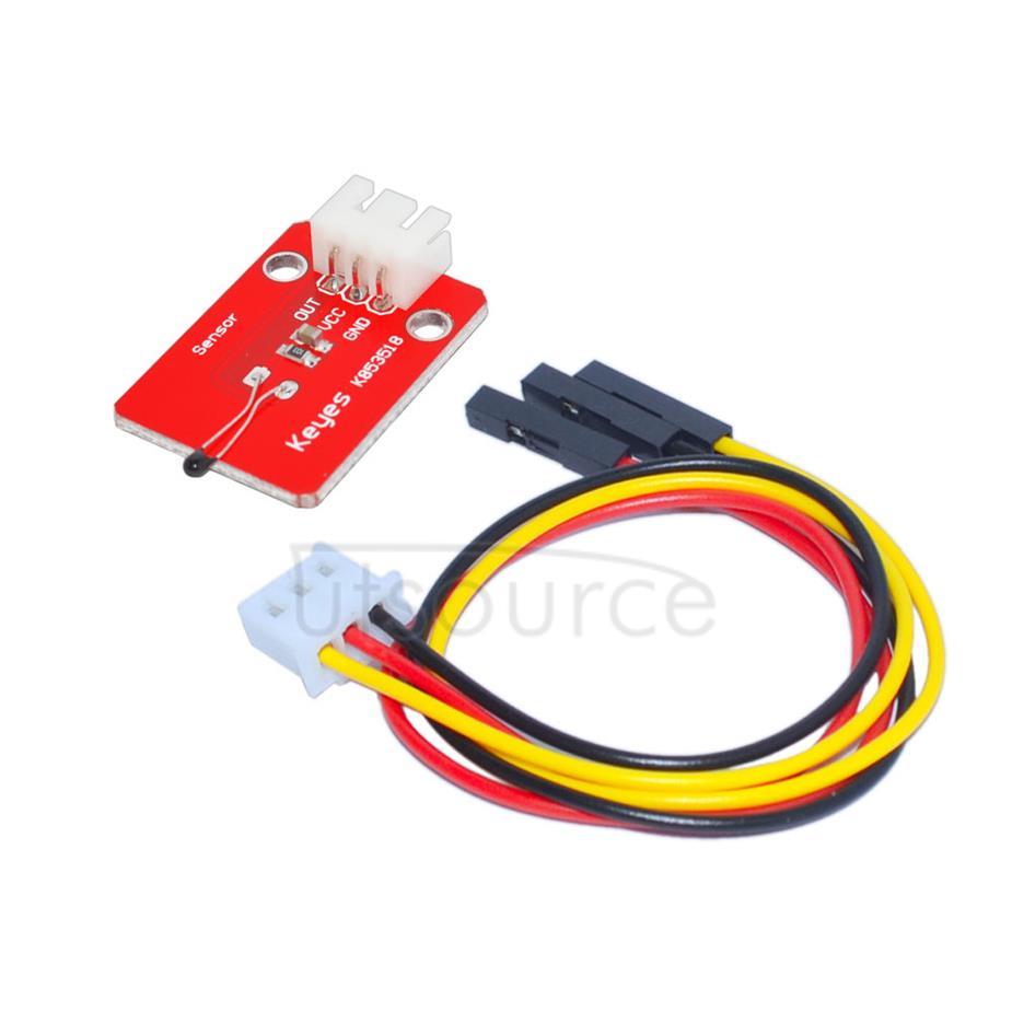 Arduino analog temperature sensor module with 3PIN dupont line