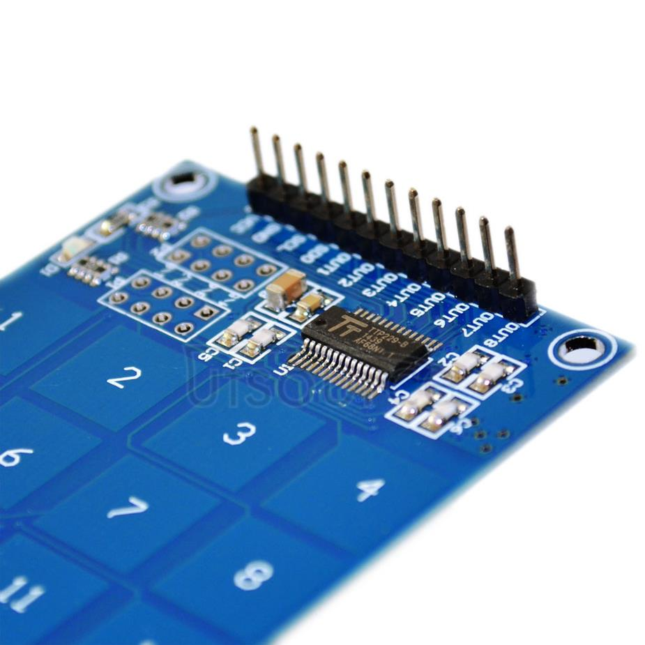 TTP229 16 road capacitor-based touch switch/digital touch sensor/module