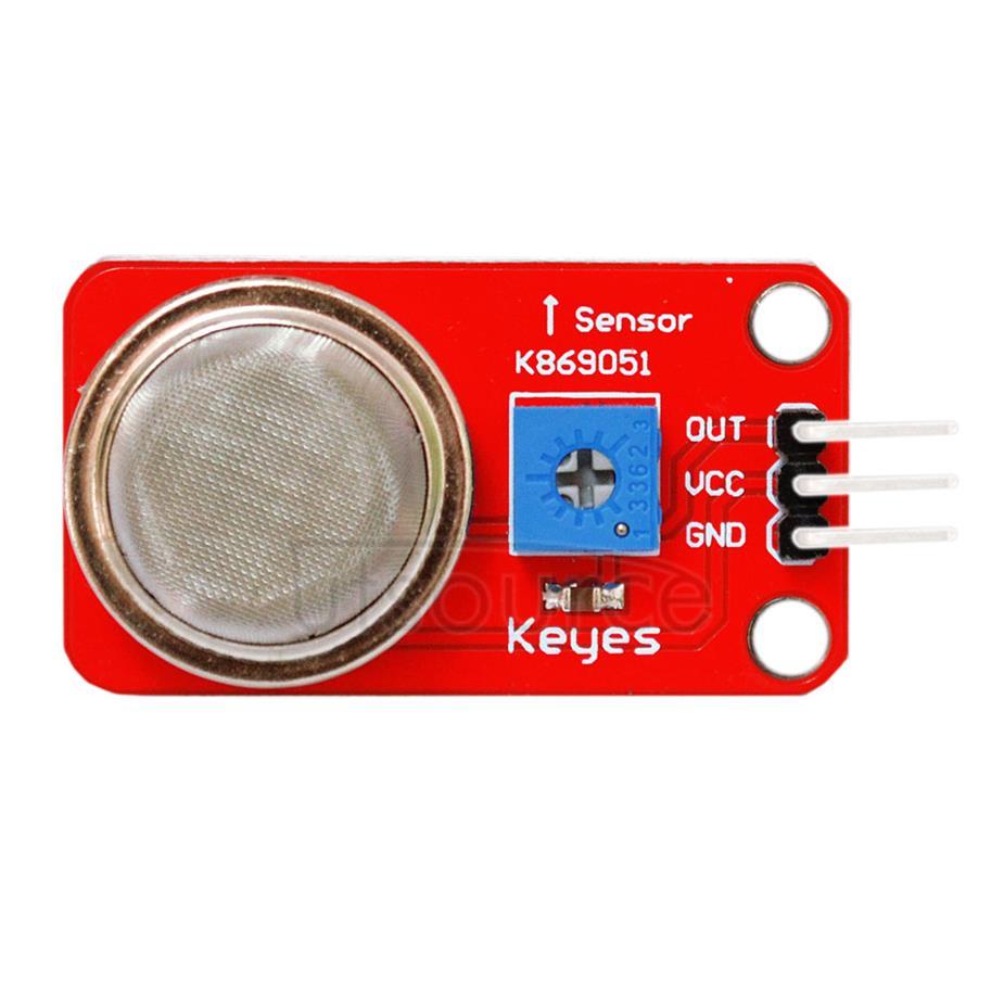 MQ - 2 smoke & gas sensor module/ liquefied gas & natural gas module/ smoke module/ red