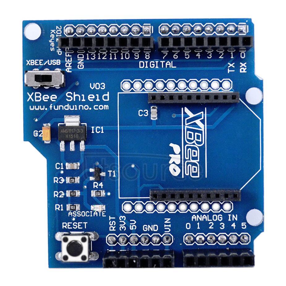 Wireless Control V03 Shield Module for Arduino?