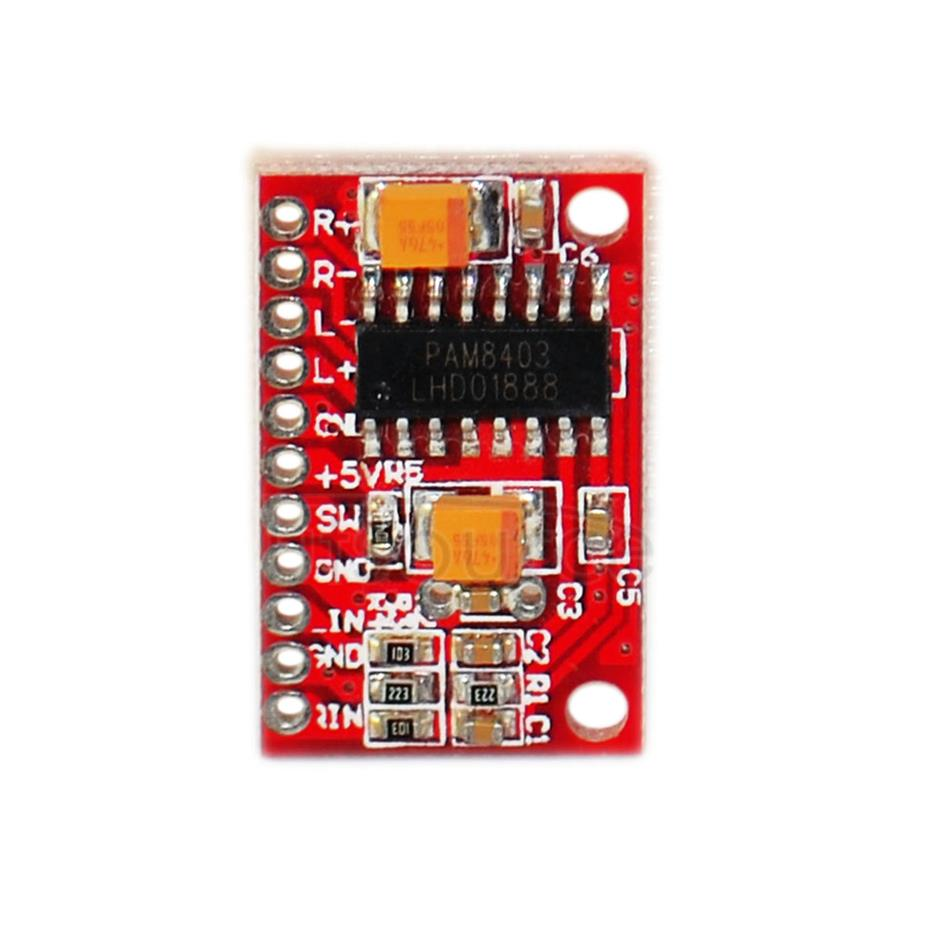Super-mini Digital Amplifier Board/ Small Amplifier Board/ USB Power Supply/High-power 3W Double Track