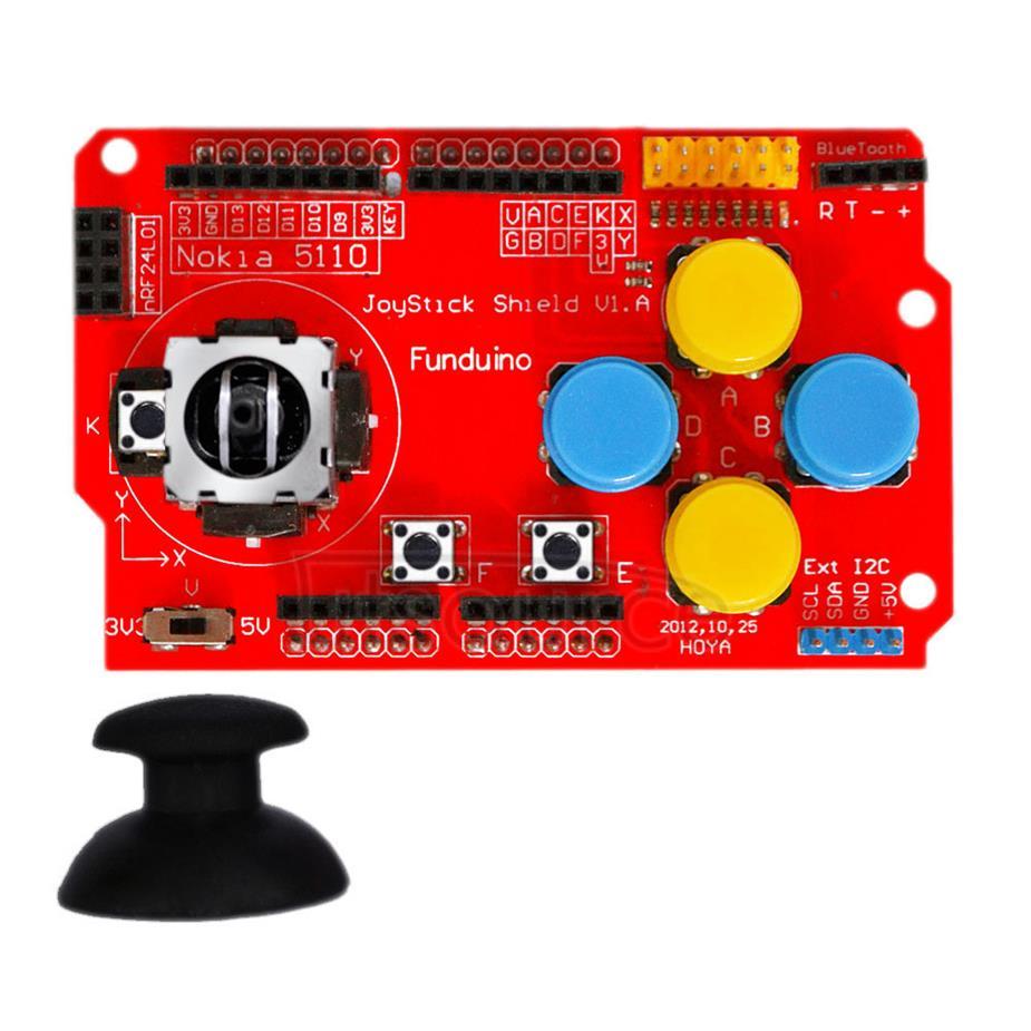 DIY Funduino Joystick Shield V1 Expansion Board