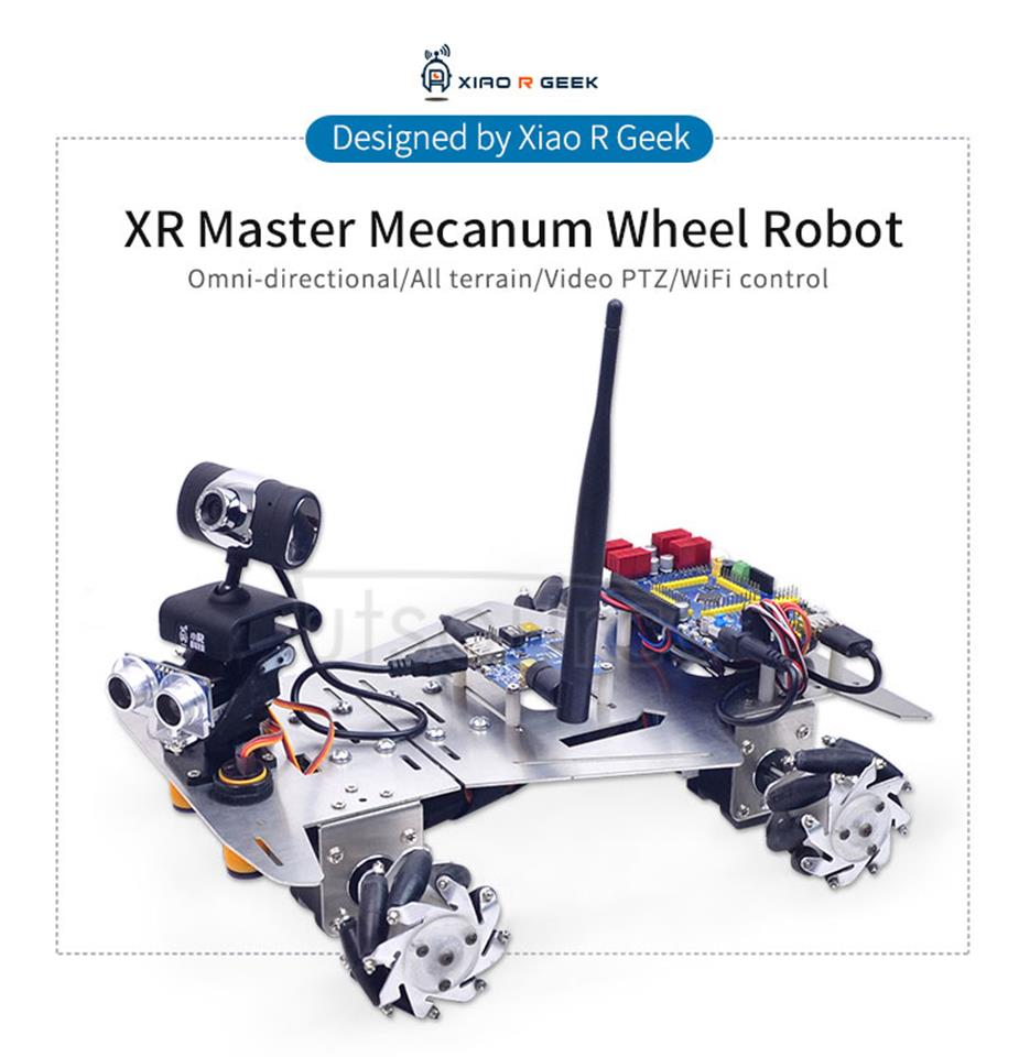 XR Master Mecanum Wheel Robot