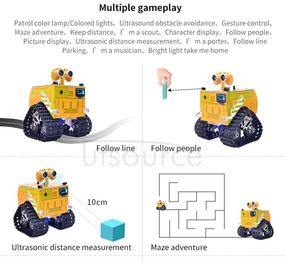 WULI Bot Programmable Robot Video Version