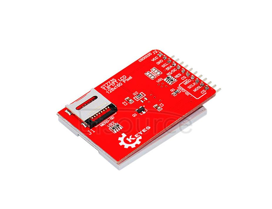 KEYES 1.8inch LCD screen module  ST7735 driven TFT color screen 128*160 compatible with arduino