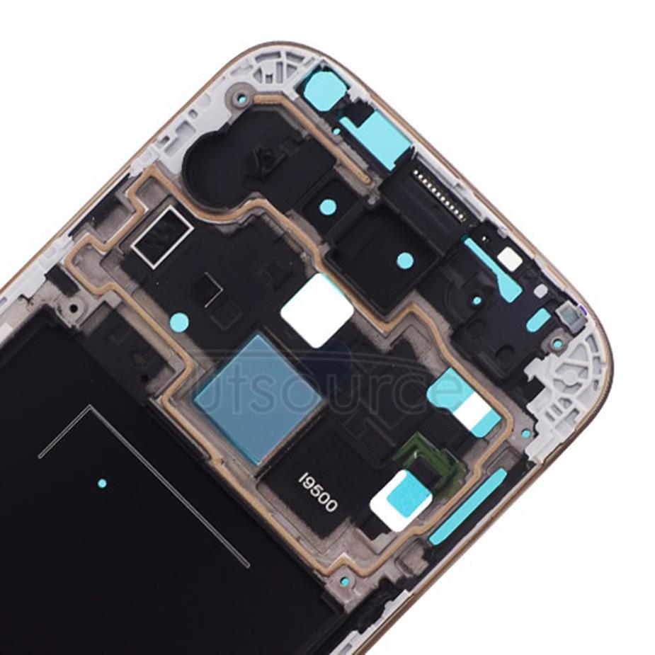 OEM Front Frame for Samsung Galaxy S4 GT-I9500 Golden