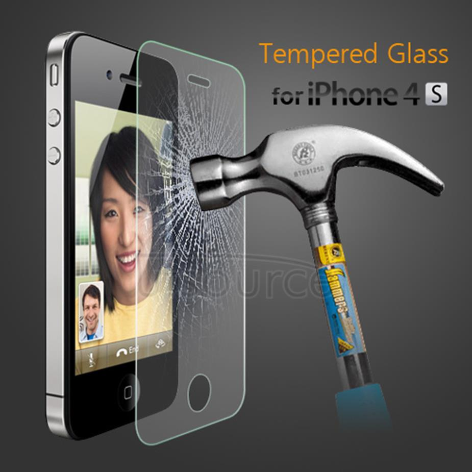 Tempered Glass Screen Protector for iPhone 4S