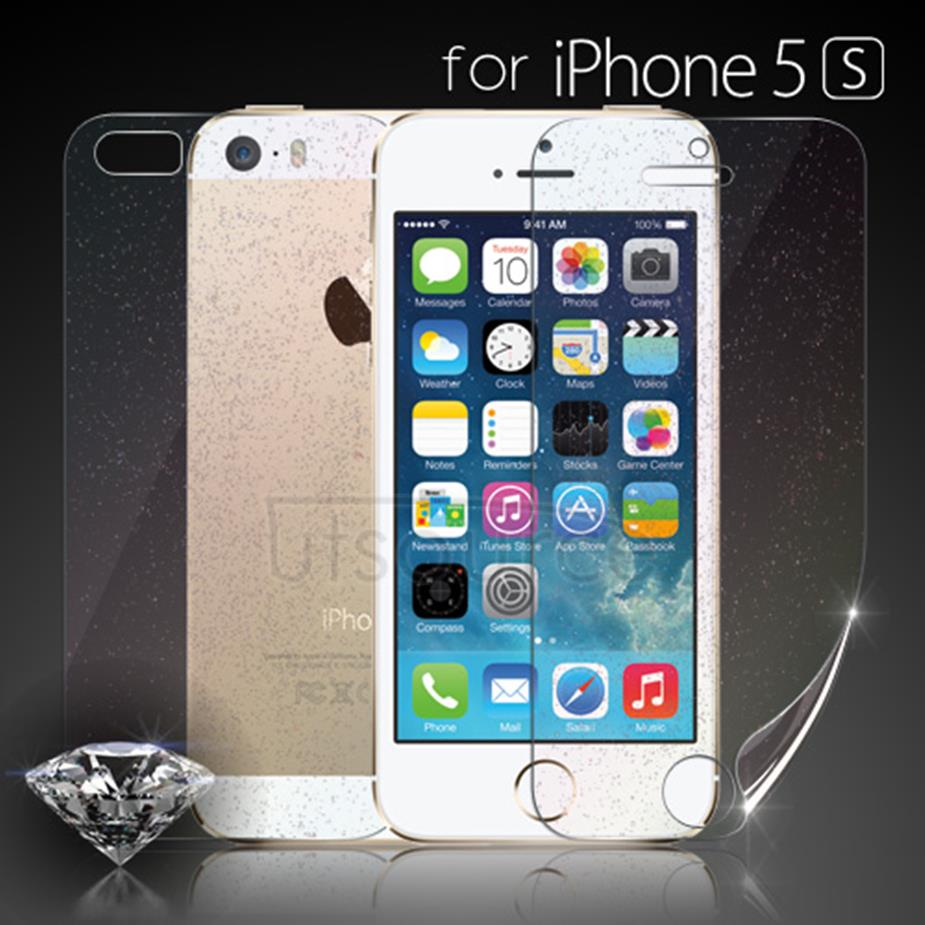 Diamond Front and Back Screen Protector for iPhone 5S