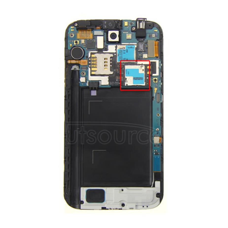 OEM SIM Card Connector for Samsung Galaxy Note 2 GT-N7100
