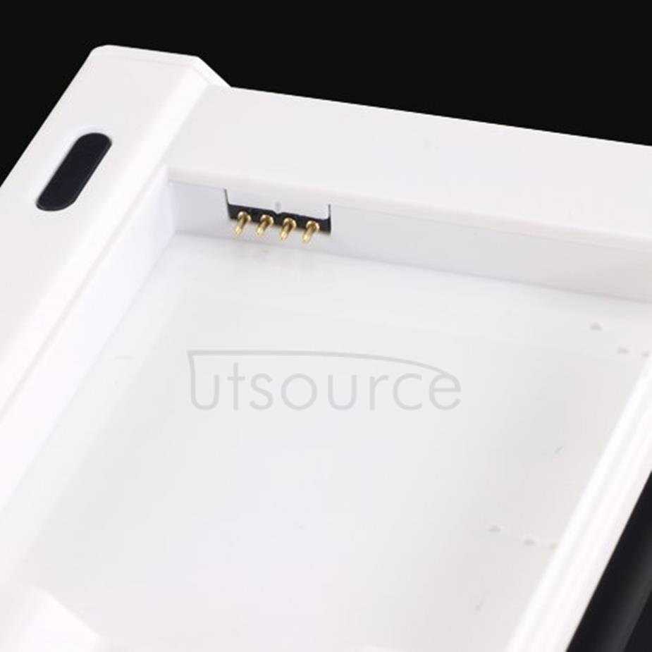 Extra Battery Charger Adapter Kit for Samsung Galaxy S4 White