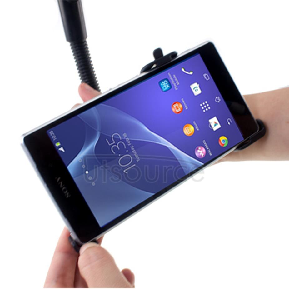 360° Rotating Windshield Car Holder for Sony Xperia Z2 Flexible Gooseneck Black