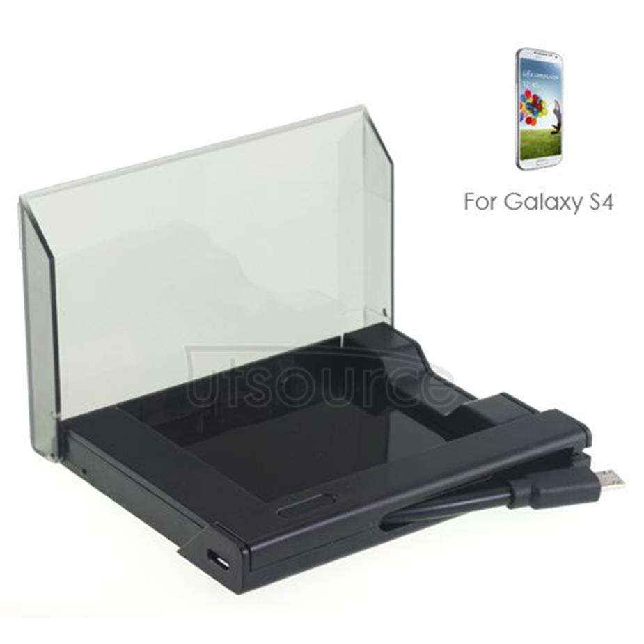 Extra Battery Charger Adapter Kit for Samsung Galaxy S4 Black