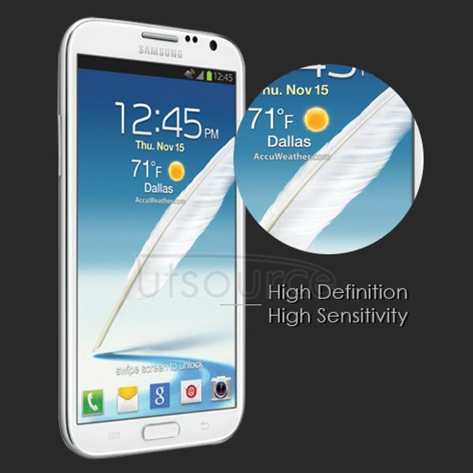 Clear Premium Tempered Glass Screen Protector for Samsung Galaxy Note 2