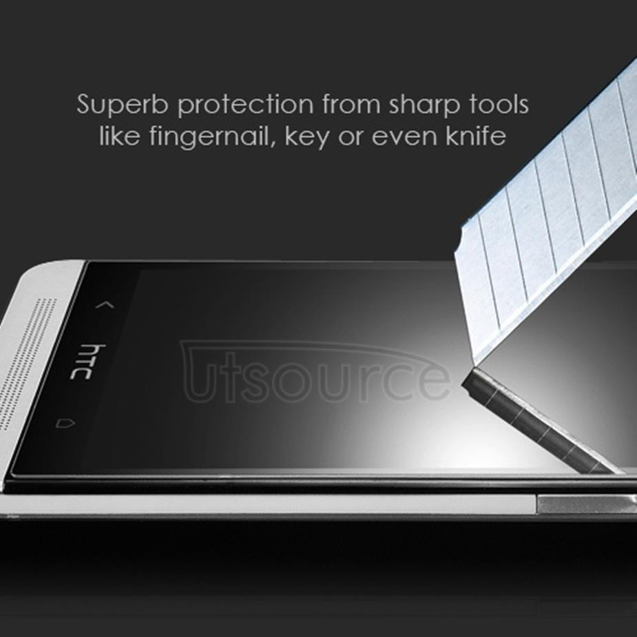 Clear Premium Tempered Glass Screen Protector Film for HTC One