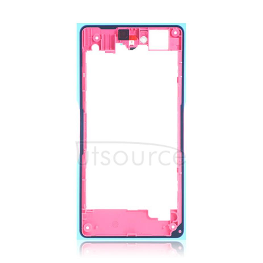 OEM Back Frame for Sony Xperia Z1 Compact Pink