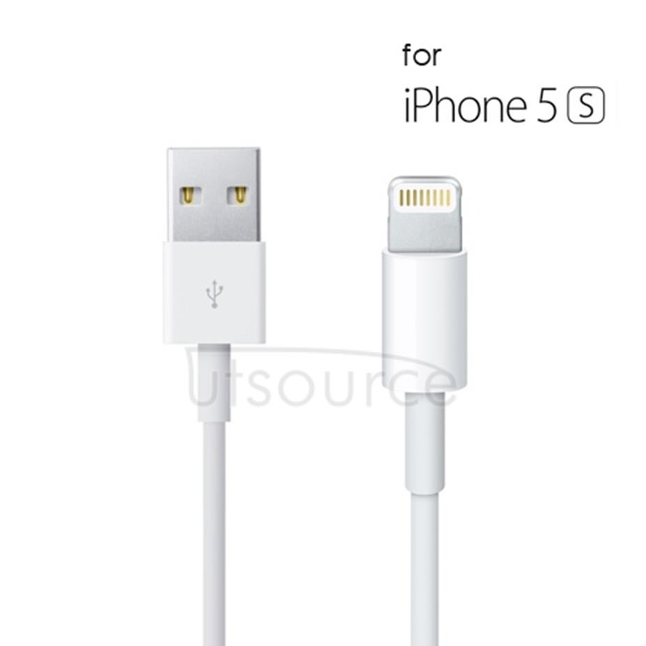 OEM USB Sync & Charge Cable for iPhone/iPad White