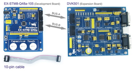 connecting the two boards