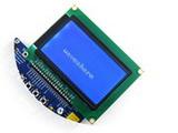 LCD12864-ST 3.3V blue