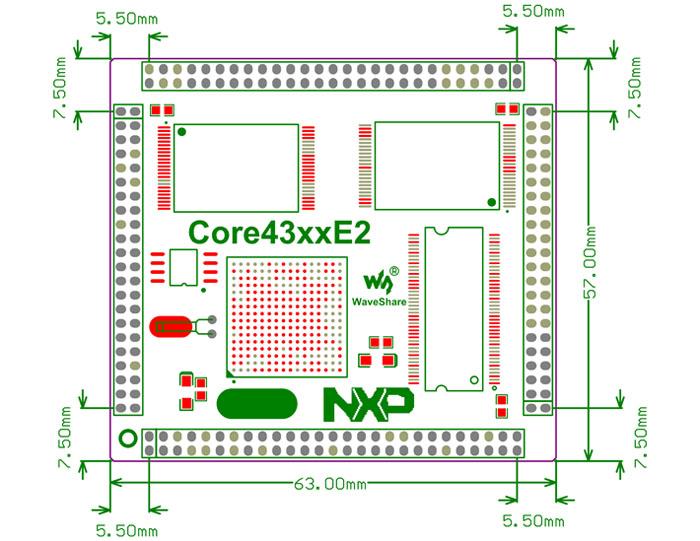 Core4357 Dimensions